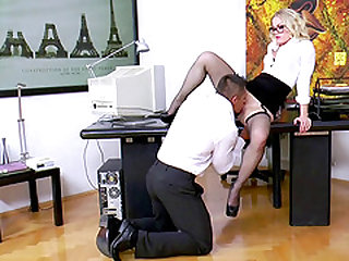 Ash Hollywood and Adriana Brill make a man's cock stiff