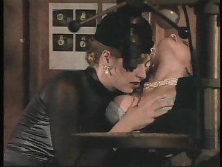 Wonderful busty brunettes sharing a long pulsating schlong