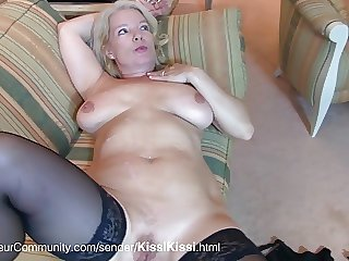German MILF with Young Boy