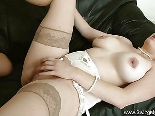 Chubby Swinger Wife Exposed As A Slut