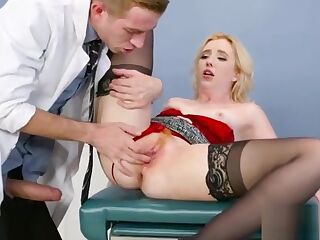 Hot Patient (Samantha Rone) And Dirty Mind Doctor Bang Hard Style video-25