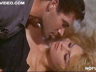 Brigitte Bardot Showing Her Tits In Love Scene
